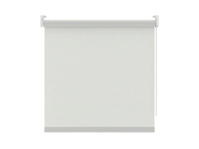 Decosol Rolgordijn lichtdoorlatend 210x190 cm ribbel wit