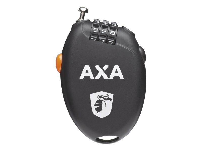 Axa Roll kabel cijferslot 1,6mm 75cm