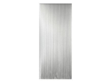 Sun-Arts Roma rideau de porte 90x210 cm transparent/noir