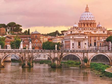 Rome papier peint photo 8 bandes