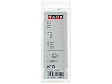 Mack Rondelles 10,5x20 mm zingué 20 pièces