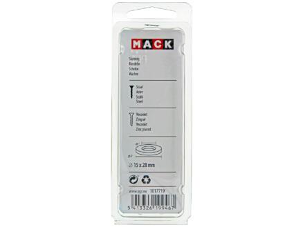 Mack Rondelles 15x28 mm zingué 8 pièces