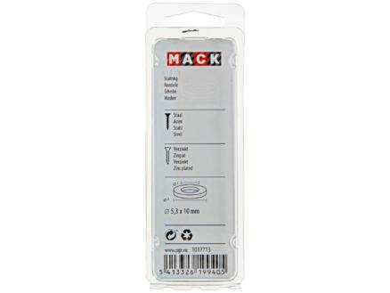Mack Rondelles 5,3x10 mm zingué 50 pièces