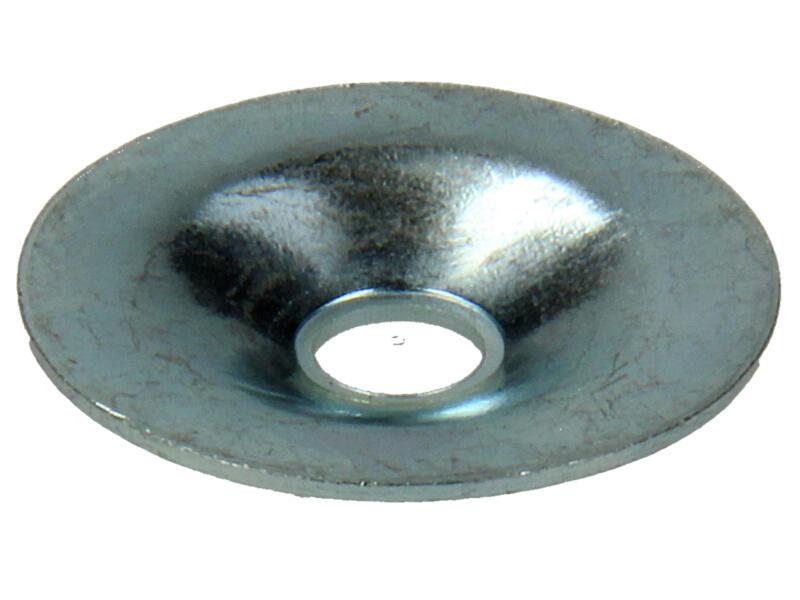 Mack Rondelles pour vis de plaques de plâtre 5x24 mm zingué 20 pièces