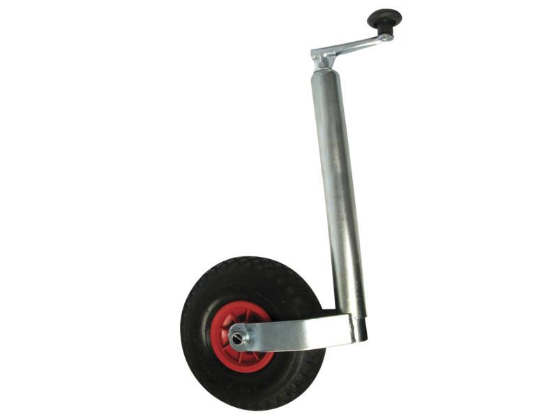 Carpoint Roue jockey 48mm avec pneu gonflable 260x80 mm