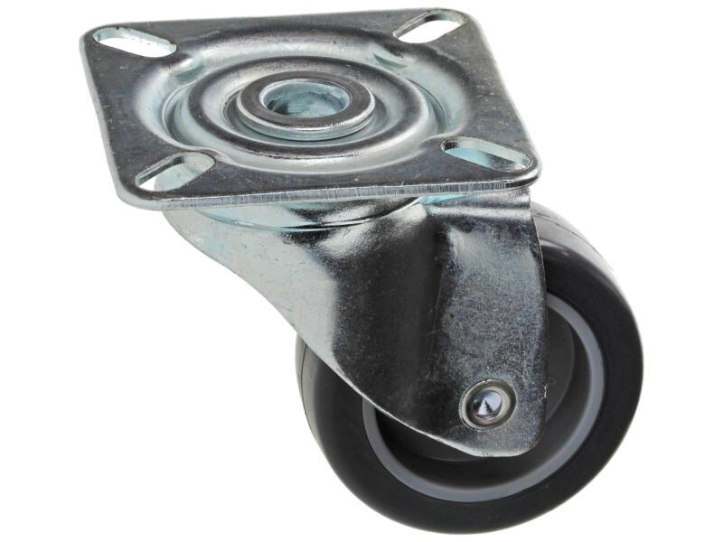 Sam Roulette 50mm platine caoutchouc
