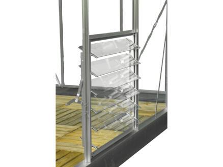 Royal well Royal 128 Full Options serre équipée verre de sécurité