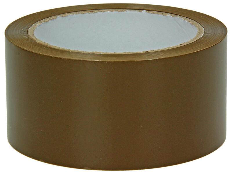 Ruban d'emballage adhésif 66m x 50mm brun 2 pièces