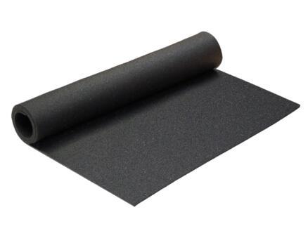 Rubber mat 90x120 cm zwart