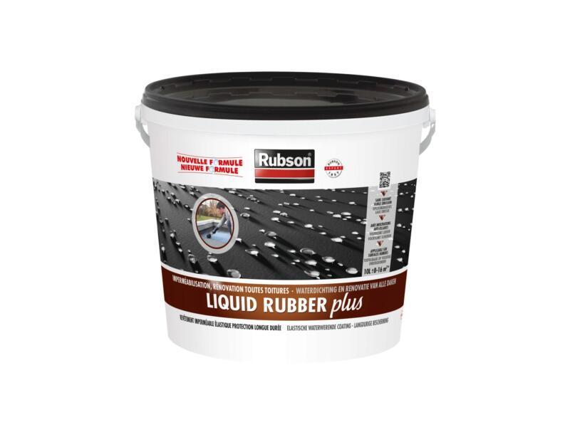 Rubson Rubbercoating Liquid Rubber Plus 10l zwart