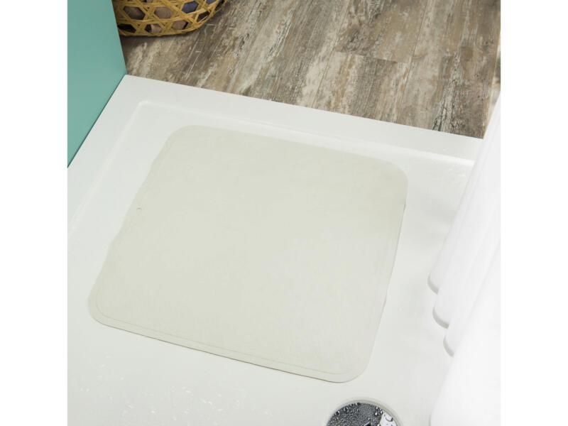 Sealskin Rubelle antislip douchemat 52x52 cm wit