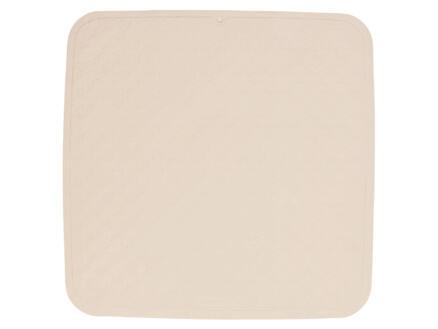 Sealskin Rubelle tapis antidérapant douche 52x52 cm beige