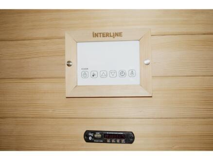 Interline Ruby infraroodcabine 130x 94x190 cm 2 personen