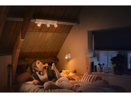 Philips Hue Runner barre de spots LED GU10 3x5,5W blanc + dimmer