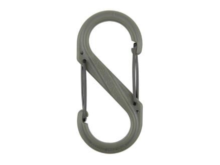 Nite Ize S-Biner S-karabijnhaak  88,7x 41,14 mm grijs