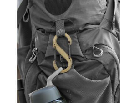 Nite Ize S-Biner S-karabijnhaak 40,64x87,63 mm kunststof bruin