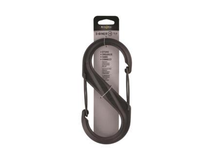 Nite Ize S-Biner S-karabijnhaak 93,98x200,1 mm kunststof zwart
