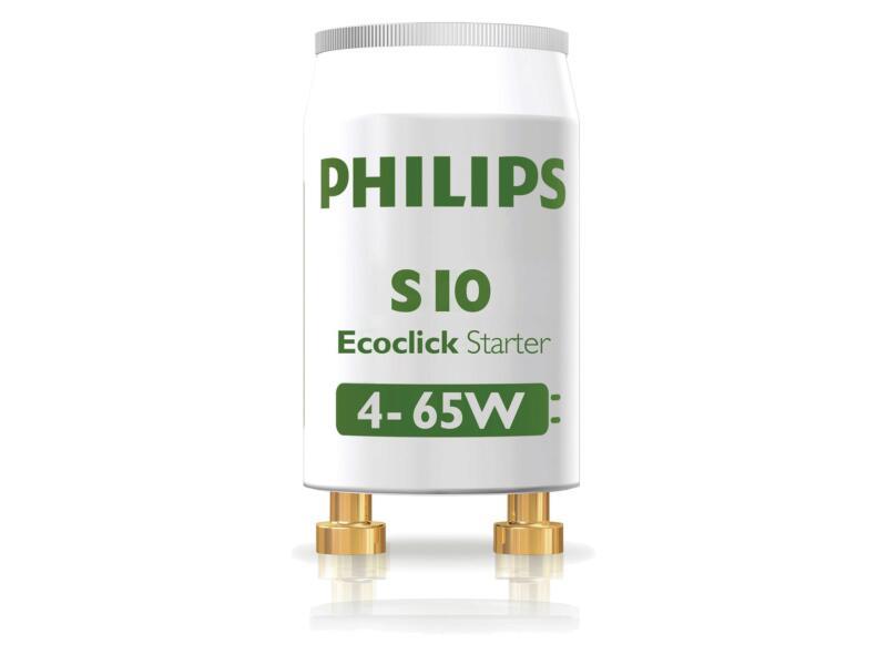 Philips S10 starter TL-lamp 4-65W 2 stuks
