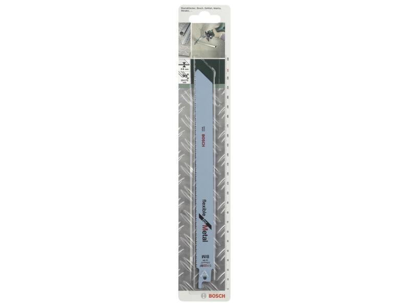 Bosch S1122BF lame de scie sabre BIM 228mm métal 2 pièces