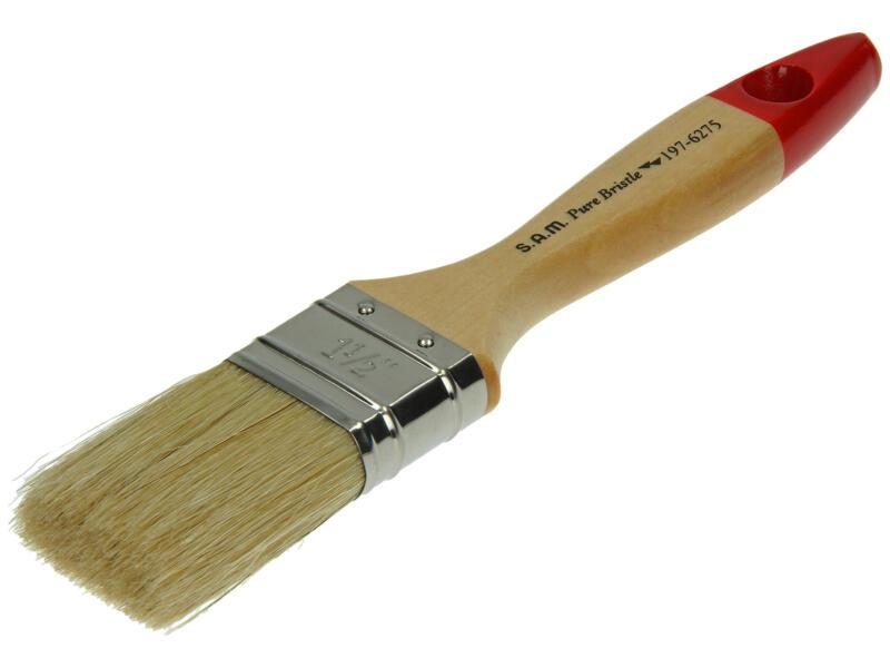 Sam S197 pinceau professionnel plat peinture acrylique 38mm