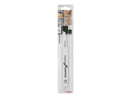 Bosch S3456XF lame de scie sabre BIM 203mm bois/métal 2 pièces