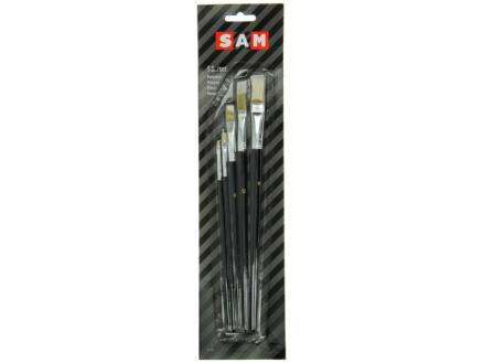 Sam S577 pinceau plat set de 5