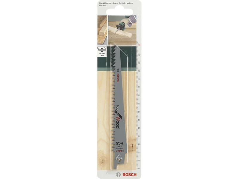 Bosch S644D lame de scie sabre HCS 152mm bois 2 pièces