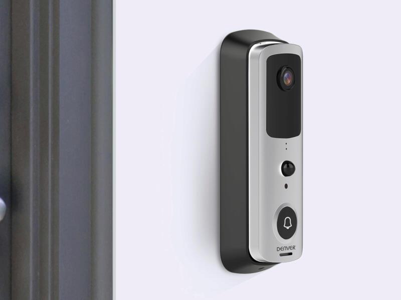 Denver SHV-120 Smarthome draadloze deurbel grijs