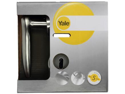 Yale Sabie BB poignée de porte set complet inox mat