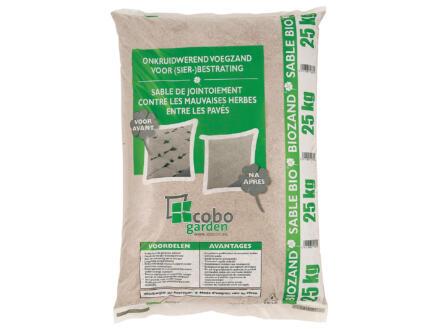 Sable bio désherbant 0-1,8 mm 25kg