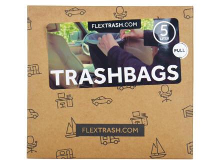 Flextrash Sacs-poubelle M 5l 10 pièces
