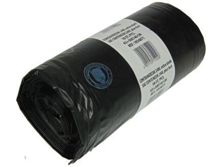 Sacs-poubelle container 240l noir 10 pièces