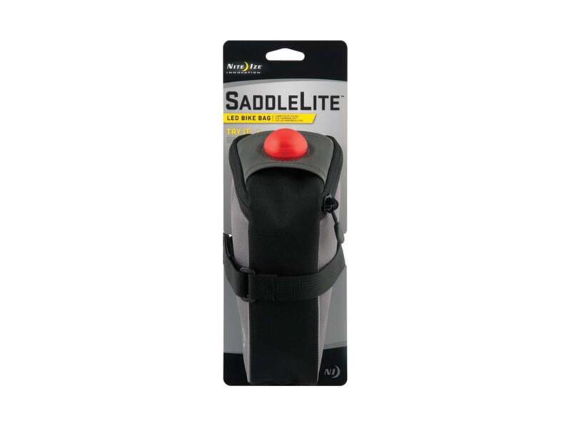 Nite Ize SaddleLite LED zadeltas 8,9x9,04x18,8 cm rood