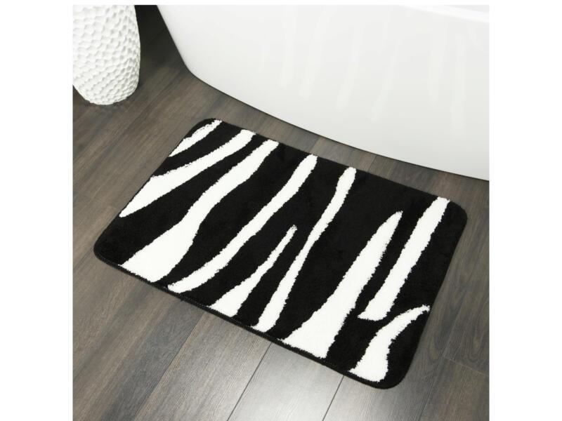 Sealskin Safari tapis de bain 90x60 cm noir