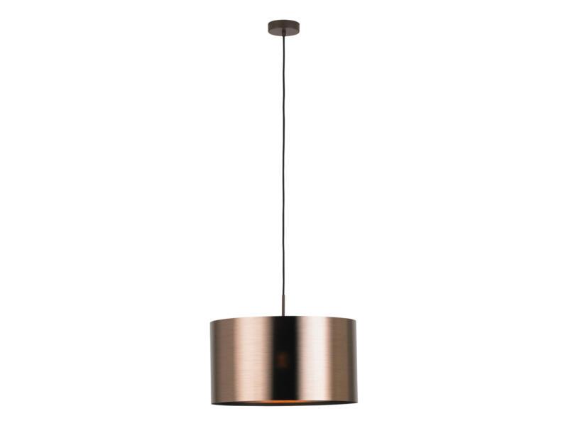 Eglo Saganto hanglamp E27 60W 45cm koper exclusief lamp