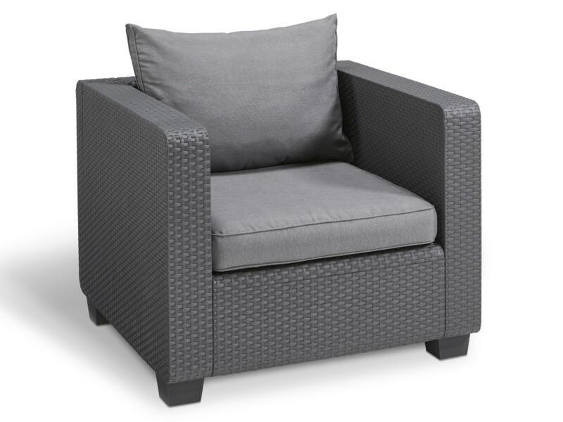 Allibert Salta fauteuil graphite