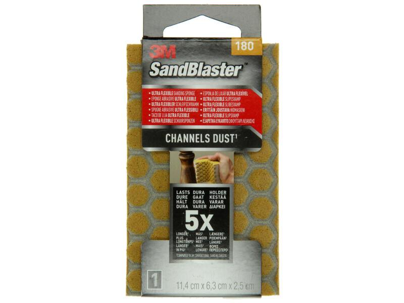 3M Sandblaster ultra-flexibele schuurspons K180 fijn