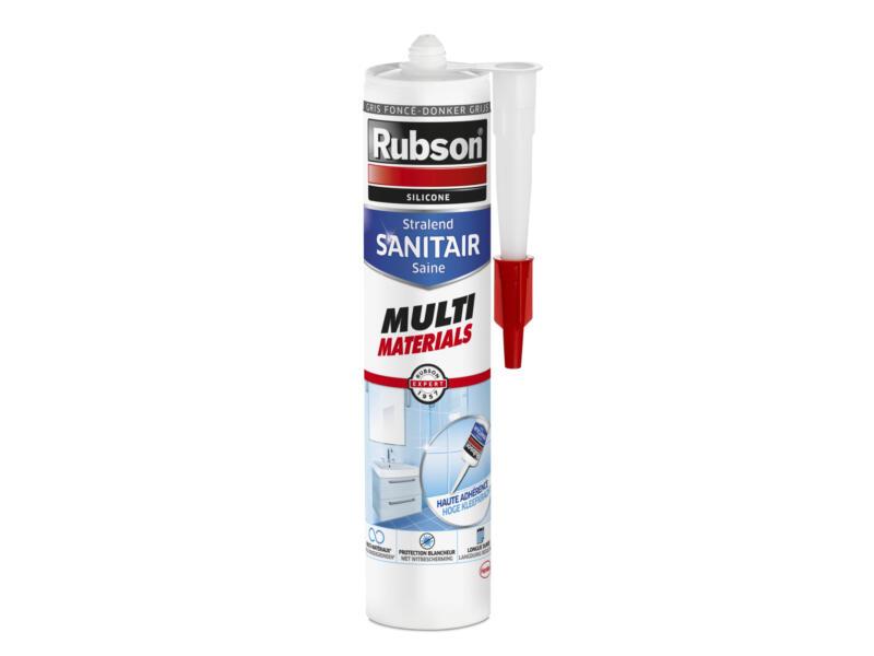 Rubson Sanitair Saine mastic silicone multi matériaux 280ml gris