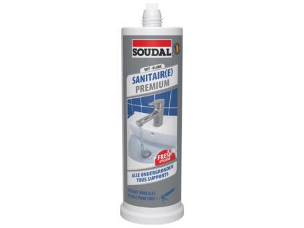 Soudal Sanitaire Premium mastic silicone 145ml blanc
