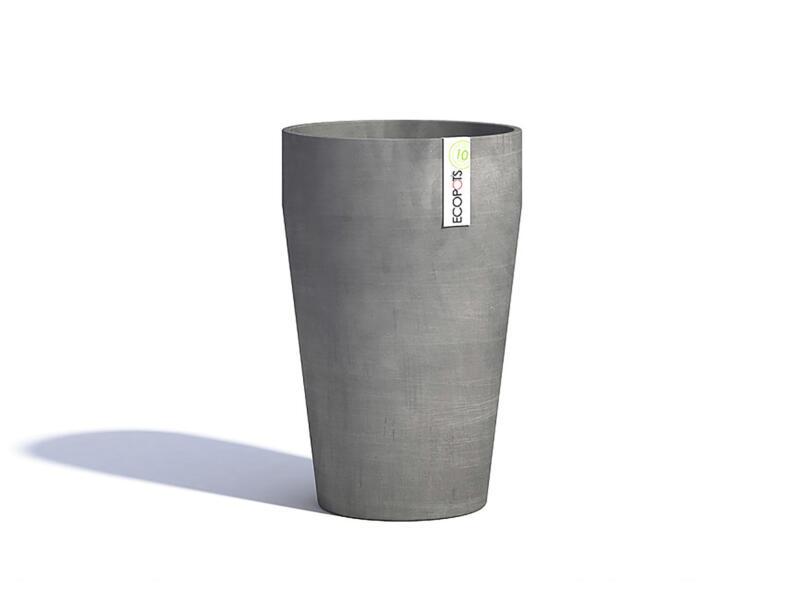 Ecopots Sankara XL bloempot 45cm grijs