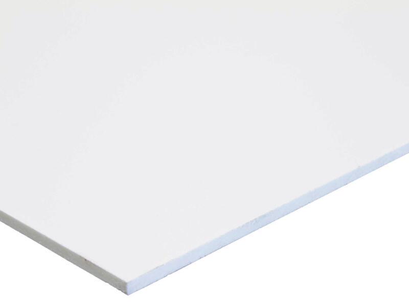 Scala Scafoam plaque 100x200 cm 5mm PVC blanc