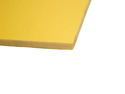 Scala Scafoam plaque PVC 100x200 cm 5mm jaune