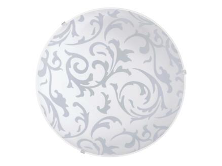 Eglo Scalea applique pour mur ou plafond E27 max. 60W blanc/gris