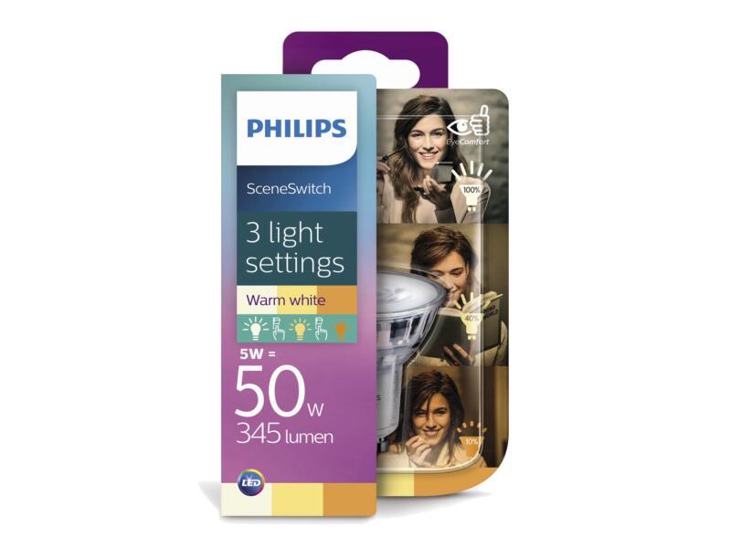 Philips SceneSwitch LED spot GU10 4,5W