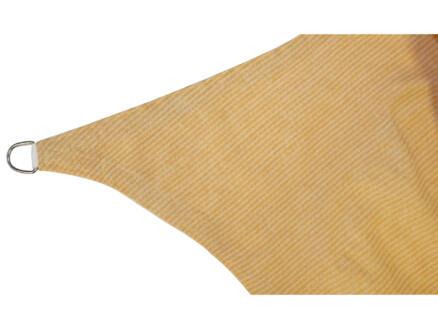 Schaduwdoek rechthoekig 12m² beige
