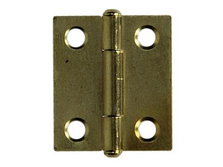 Scharnier 2,5x1,8 cm
