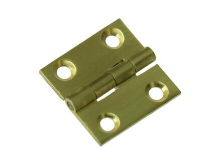 Scharnier vierkant 2,5x2,5 cm