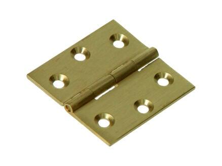 Scharnier vierkant 4x4 cm