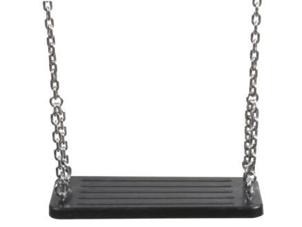 Schommelzitje 45cm rubber met ketting