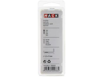 Mack Schroefduimen 35x3 mm verzinkt 48 stuks